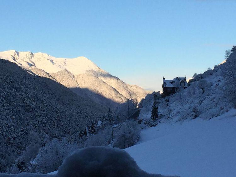 Valldaran Goodmorning Snowlandscape