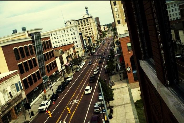 Home is where the heart is frfr... Hometown Flint 810 Downtown