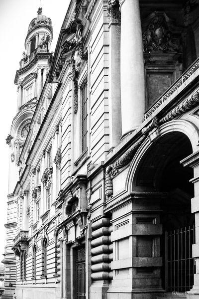 Bolsa do Café City Arch Building Exterior Palace