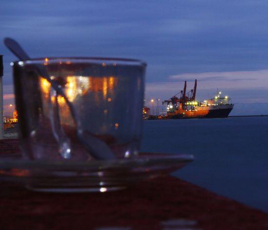 Üsküdar sahili Uskudar Limani Photo Night No People Illuminated Sea Close-up Technology Water Indoors  Sky