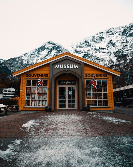 A museum in the