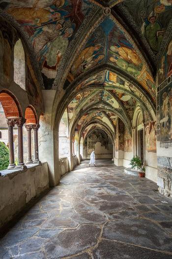 Interior of dome de bressanone