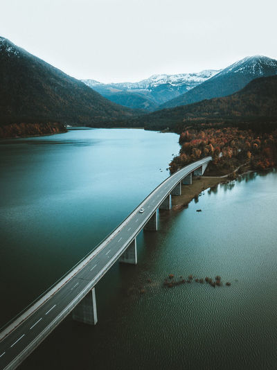 Drone  Drone Shot Drones Low Angle View Beauty In Nature Clear Sky Day Drone Photography Dronephotography Droneshot Lake Lake View Lakeshore Landscape Mountain Mountain Range Nature No People Outdoors Scenics Sky Tranquil Scene Tranquility Travel Destinations Water