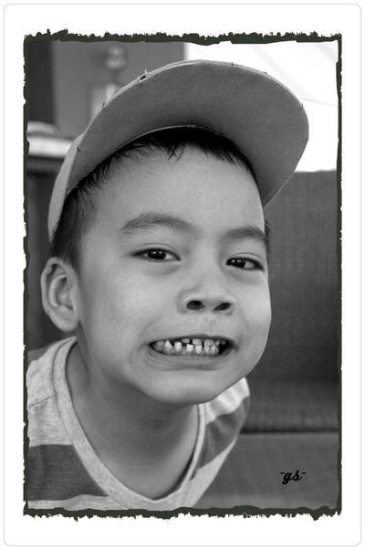 """""""B"""" My nephew__(1/bw) Monochrome B&w Photography Portrait Enjoying Life"""
