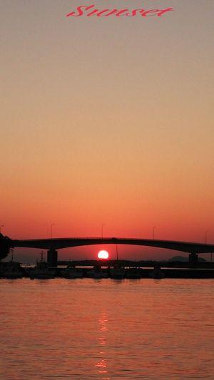 お疲れチャン(^o^)v Miyazaki Kushima Fresh Air Healing 夕凪 Yuka  Sunset Pray For Kyushu Relaxing