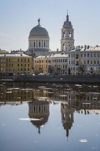 Building Exterior Built Structure Dome Reflection Architecture Sky Water Waterfront Travel Destinations Religion Spirituality Building Nature Travel City Tourism Place Of Worship The Past History No People Outdoors Canal
