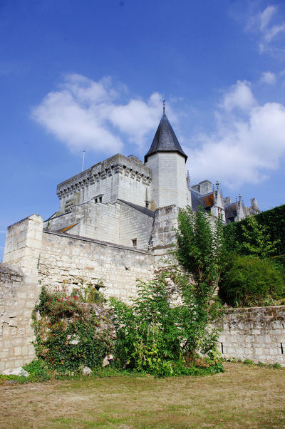 Un moment. French Castle Architecture Building Exterior Built Structure Castle Cloud - Sky Day History Low Angle View Nature No People Outdoors Sky Travel Destinations Tree