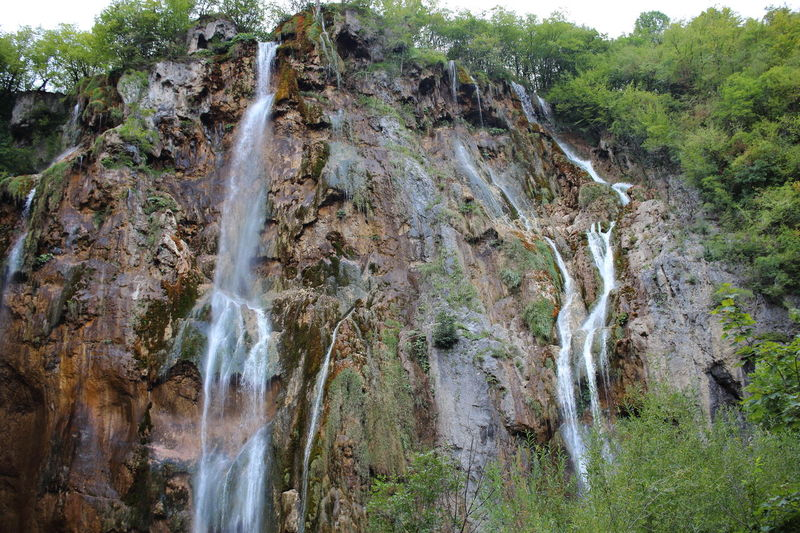 Croatia Djmarcop Trip Outdoors No People Forest Cliff Beauty In Nature Day Nature Waterfall Tree Rock - Object Travel Destinations Water Scenics Motion Sky