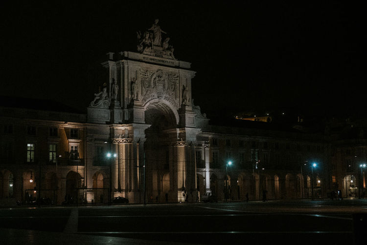 Architecture Building Exterior Built Structure City History Illuminated Night No People Outdoors Sky Travel Destinations
