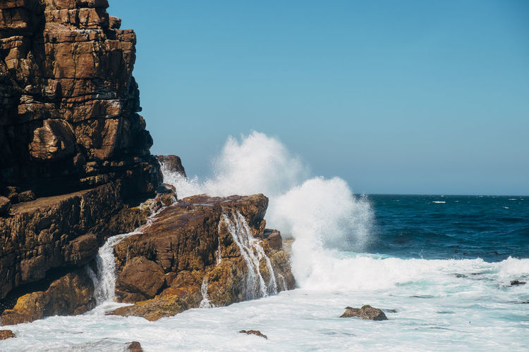 Waves at cape of good hope