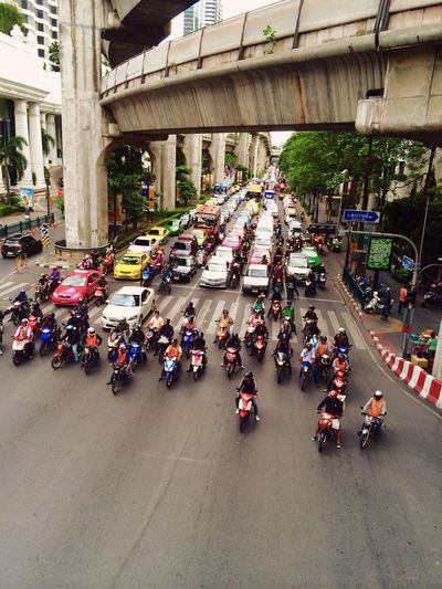 Spotted In Thailand Streetphotography Motorbike Traffic Bangkok Thailand Street Photography