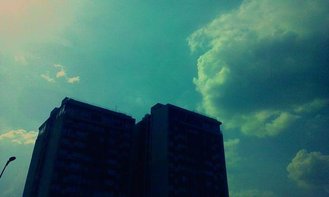 Hello World City-sky Sky_collection Blue Sky Nature Photography GoodMorning⛅