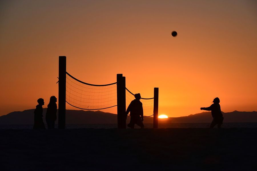 Sunset Silhouettes sun_collection Life is a beach beach Oxnard Beac California Dreamin Sunset Silhouettes Sun_collection Life Is A Beach Beach Showcase: December People Watching Hanging Out