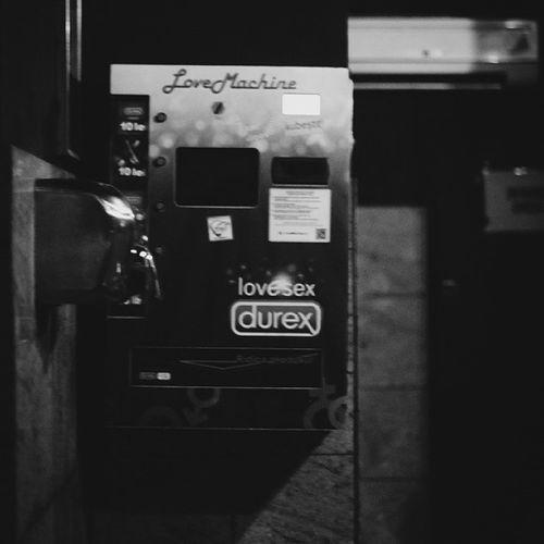 How kind of you to think. Bucharest Cluba Durex Sexlol condom dispenser