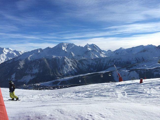 Skiing Snow Mountains