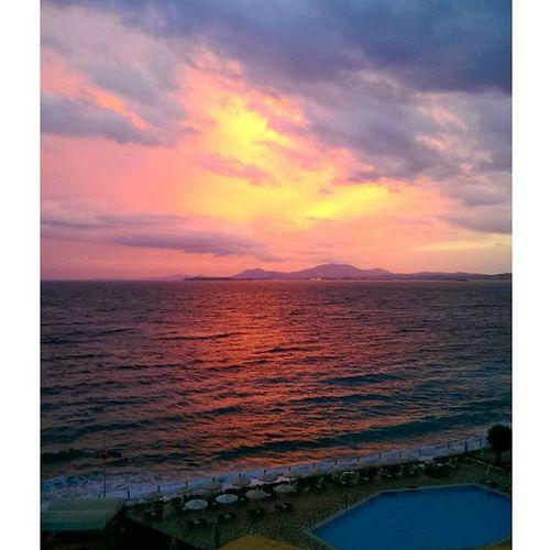 Nofilter Greece2015 Sunsets Sun Beachlife TravelTuesday