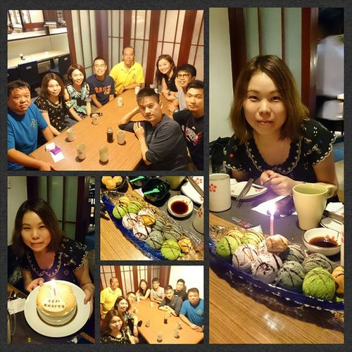 Team 5歡送細茄+預祝Kit Yan生日飯 Team5 Team_dinner Birthday Cake Birthday Dinner 浦和 mimisphotography mimis_favourite