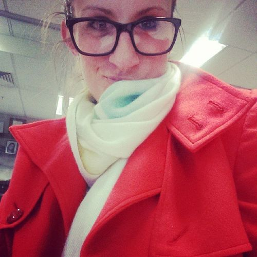 Loving my Mongolian cashmere jacket and scarf, thanks mum and Suugie! Spoilt Birthdaysarebest
