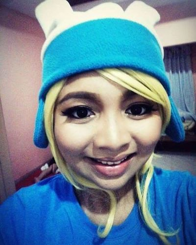 Tadaaaaa!!hahaha. Just posting something, been a while since i posted.nyehehe! how are you? Emjhiiee Finnadventuretime