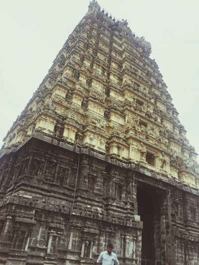 Ekambaranathar temple Temple God Hindhu Temple Hindhu Architecture Built Structure Low Angle View Building Exterior Building Religion Sky Spirituality Tourism Outdoors Place Of Worship Belief Travel Destinations History The Past Travel