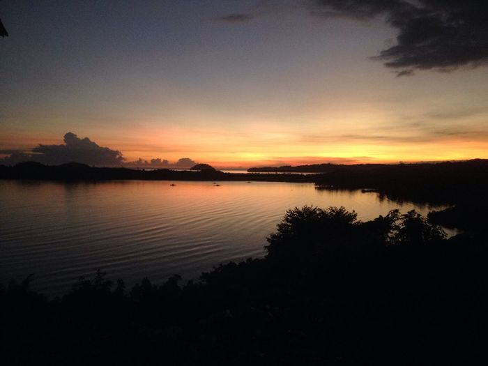 Wonderful Indonesia Sunrise In Indonesia Gorontalo Sulawesi Triptomanado