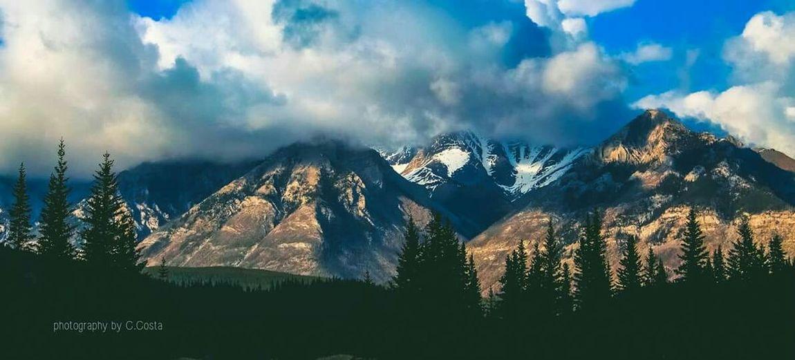 Banff National Park  Alberta Canada Landscape Travel Open Edit