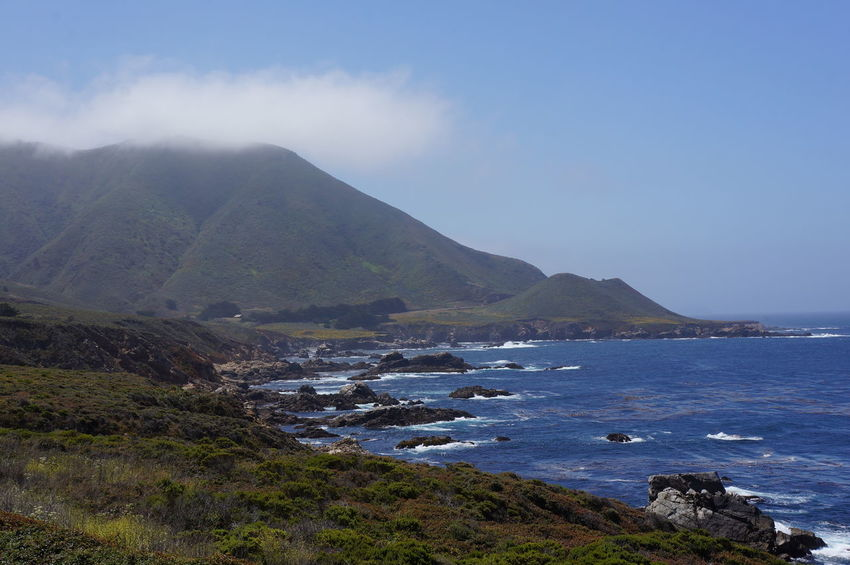 Beauty In Nature Big Sur Outdoors Tranquil Scene Tranquility