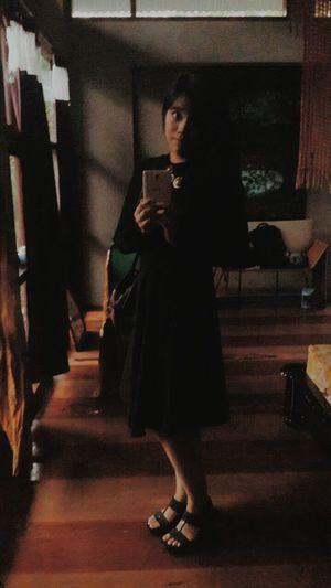 Selfie EyeEm Best Selfie's  Self Portrait wearing my Little Black Dress :)