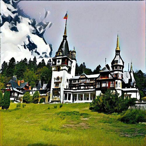 Peles Peles Castle Castle Castel Peles Romania