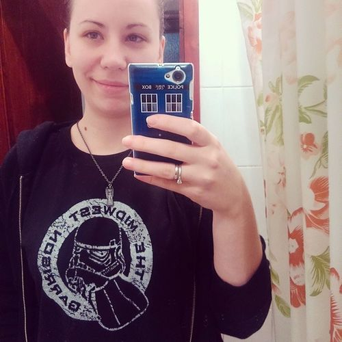 Wearing my husband's colours today! Starwars 501st Midwestgarrison Stormtroopers ilovemyhusband