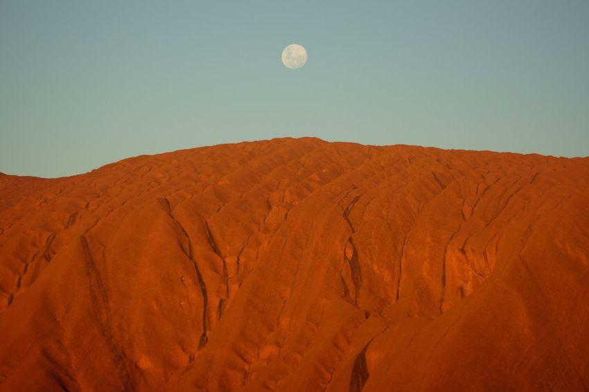 Uluru Kata Tjuta National Park Australia Australian Landscape Ayers Rock Moonlight Moon Outback Geology Aboriginal Land Sacred Places