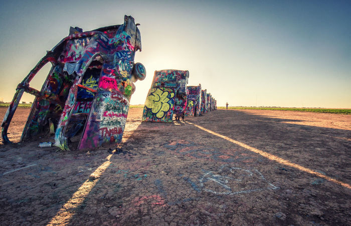 Cadillac Ranch Route 66 Roadside Attractions Travel Photography Travel Destinations Graffiti Art Cars On The Road Amarillo, TX