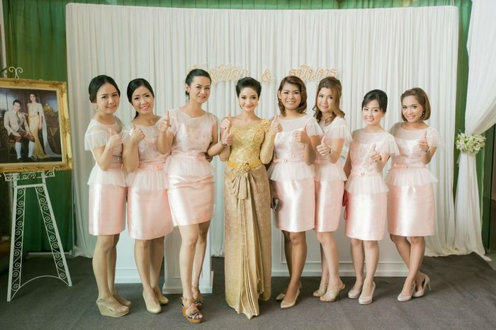 Thaigirl Bridesmaid Thaiwedding Ammytenwedding