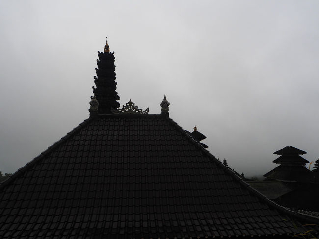 🌧Before rain🌧 Besakih Temple Travel Bali Bali, Indonesia Cultures Architecture Culture Building Exterior Built Structure Cloudy Day Exceptional Photographs History Landscapes Low Angle View Outdoors Pagoda Place Of Worship Religion Roof Silhouette Still Life Tadaa Community Travel Destinations Beauty In Nature The Architect - 2017 EyeEm Awards