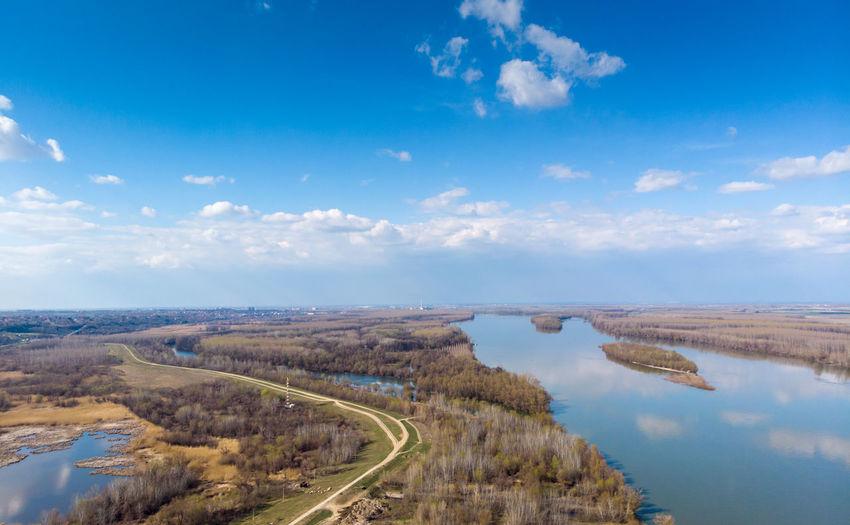 Danube Danube River Blue Sky River Landscape No People Beuatiful Nature Beautiful Europe Toursim Nature Nature Photography