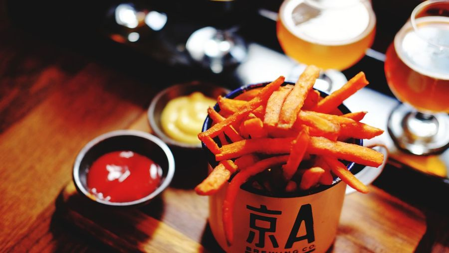 EyeEm Selects Food Photography Enjoy Of Life FUJIFILM X-T1 Happy Sweet Potato Fries Handmade Bears Sanlitun Love It