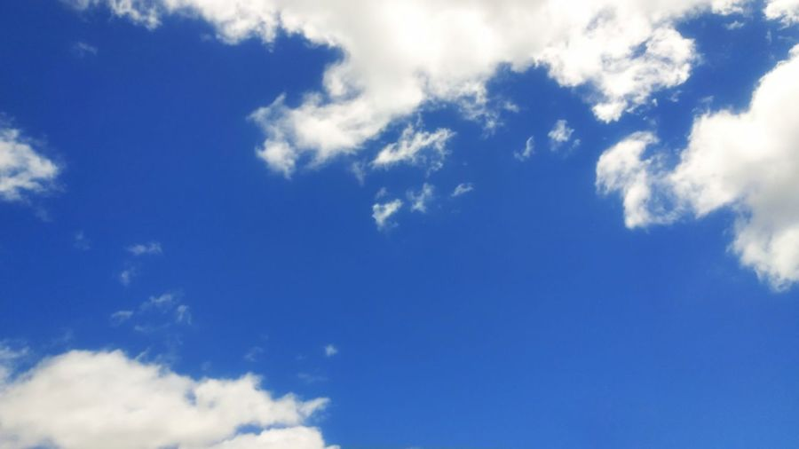 Beauty In Nature Sky Scenics No People Outdoors Day Sky Only Backgrounds Wispy Weather Nature Low Angle View Cloudscape Blue Cloud - Sky