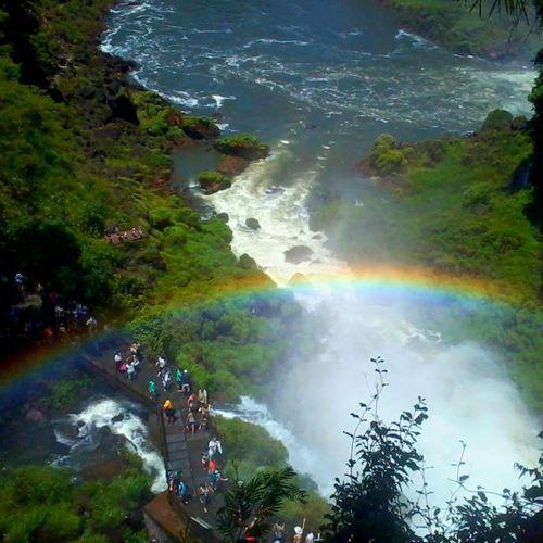 Cataratas Del Iguazu Maravillas Del Mundo Misiones , Argentina Que lindo mi pais!