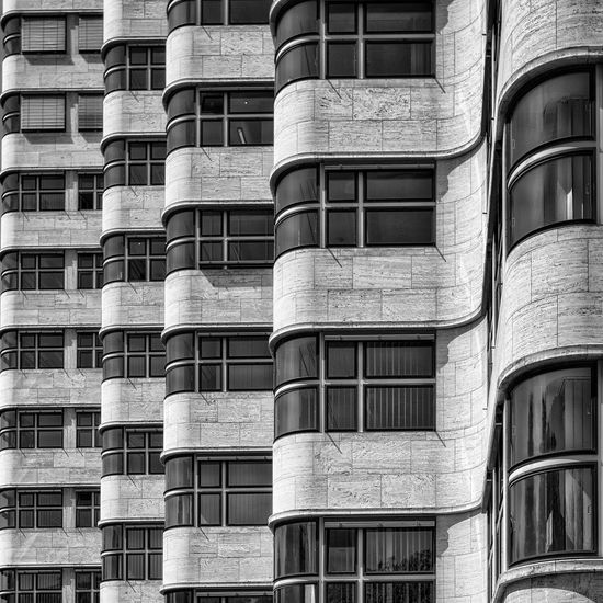 Berlin Architecture Building Black And White Monochrome Blackandwhite Photography Bw_collection Architectural Detail Architecture_collection Architecture_bw Shell-Haus Berlin