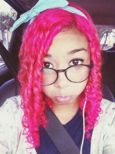 Pinkhair Aegyo Girl
