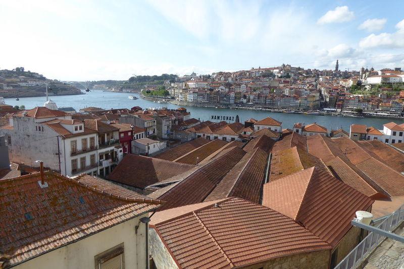 Roofs Architecture Oporto Golden City Oporto