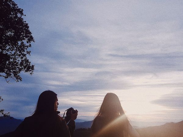 People Nature Sunset Beauty In Nature Friend Silhouette Sky Only Women Adults Only One Person Tranquility Scenics Outdoors Water Adult Real People Day One Woman Only Close-up First Eyeem Photo