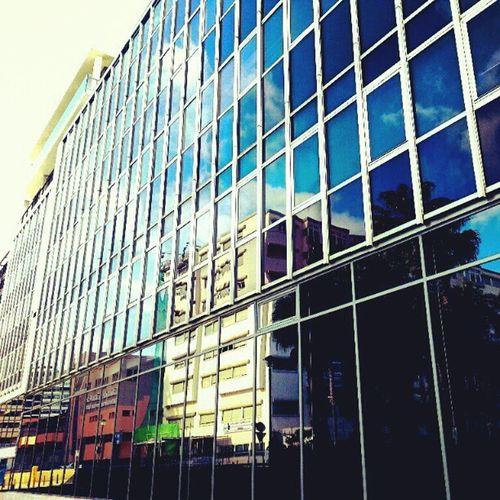 Windows Ventanas Reflejos Reflects Cristales Crystals Mirror Building Edificio Negro Black LuisDoresteSilva LasPalmas IgersLpa IgersLasPalmas Igers