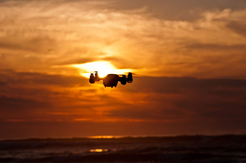 flying... Drone