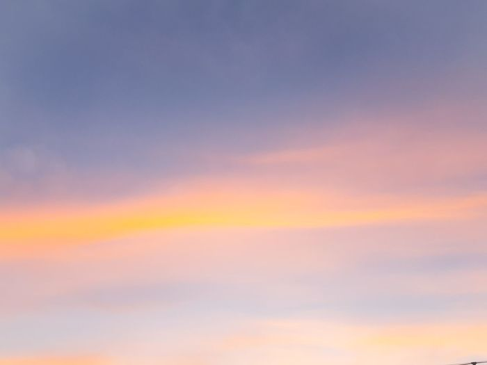 Dramatic Sky Sunset Cloud - Sky Multi Colored Sky Vibrant Color Cloudscape Backgrounds Scenics Nature No People Sky Only Outdoors Tranquil Scene Space Abstract Sunlight Travel Blue Beauty
