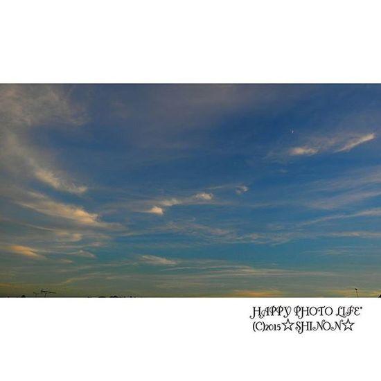 * イマソラ * 南の空 * 今日も1日お疲れ様! * イマソラ 南の空 Sky グラデーション gardening goodday olympus olympusomd om_d e_m1 olympus倶楽部 japan utunomiya