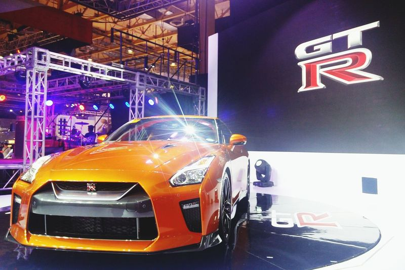 Nissan GTR Nissan Philippineinternationalmotorshow NissanPIMS2016 PIMS2016 Cars Fast Cars Sportscar Fastandfurious Fast And Furious NissanGTR
