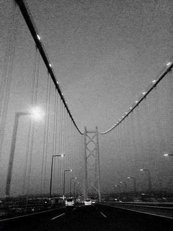Bridge On The Road Streamzoofamily Monochrome Blackandwhite Hello World