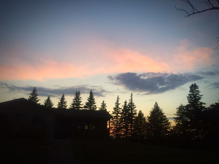 Minnesota Skies Watertown Home Sweet Home ❤ Farmland At My House Country Life Countryboy Out West Farmlife Sillouettes