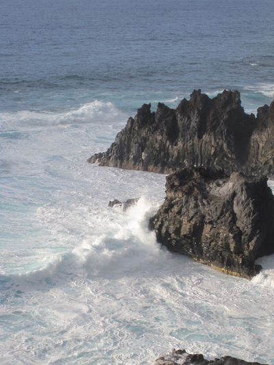 Sea Beauty In Nature Wave No People Water Breakers La Palma La Palma Island La Palma, Canarias